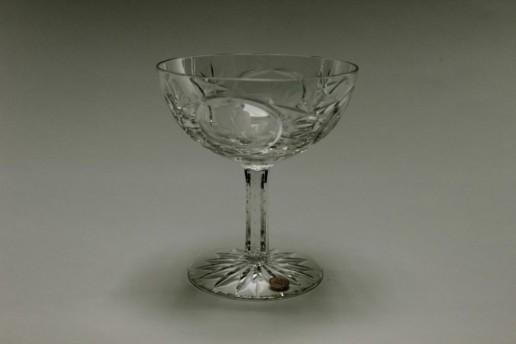 WMF SektSchalen ROSENKAVALIER Glas Bleikristall Vintage Glass Unused