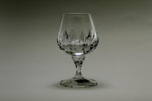 WMF Sehr Schöne Cognac Gläser Corona Bleikristall Vintage Glass Unused